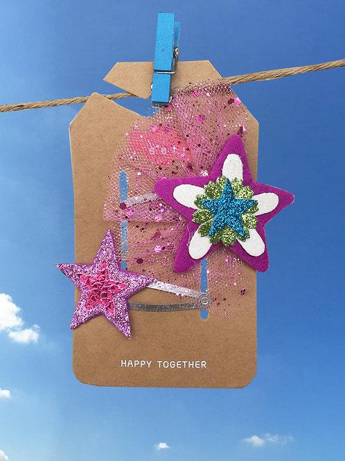 SparkleStar Hair Clip