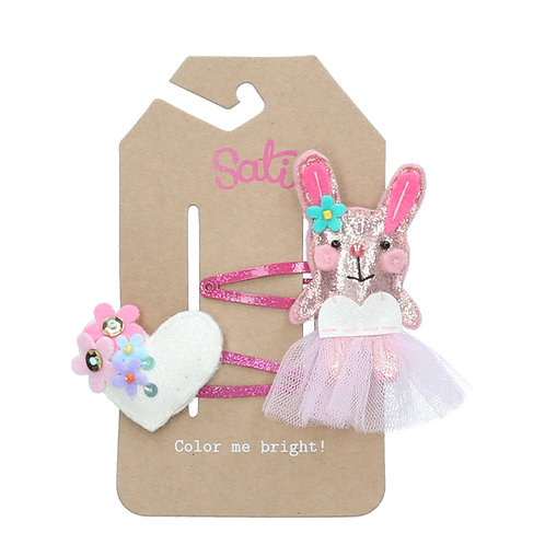 Lovely Rabbit Hair Clip