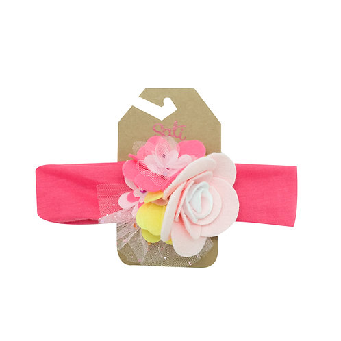 Sweet Rose Headband (Size 3 to 36 months)