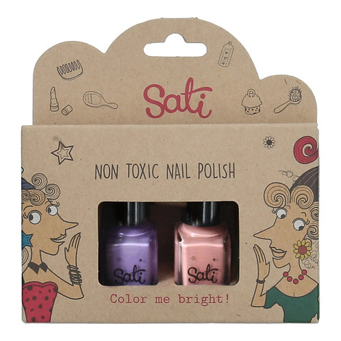 Non-Toxic Nail Polish - Peach Berry