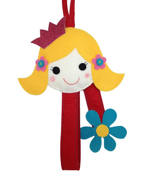 Princess Hair Clip Holder