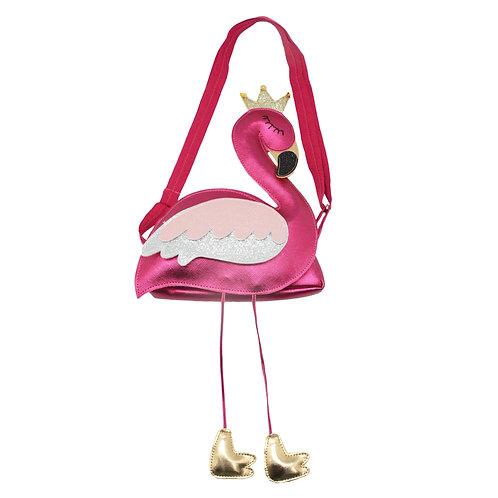 Forest Flamingo Sling Bag