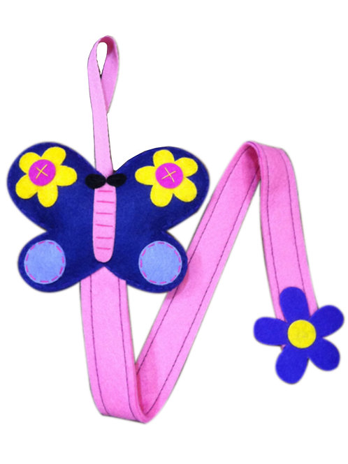 Butterfly ( Violet ) Hair Clip Holder