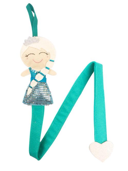 Arctic Princess Belle Hair Clip Holder