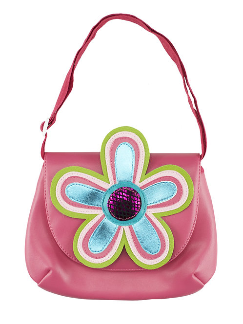Flower ( Pink ) Shoulder Bag