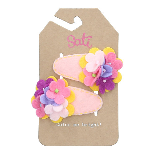 Sweet Flowers Hair Clip