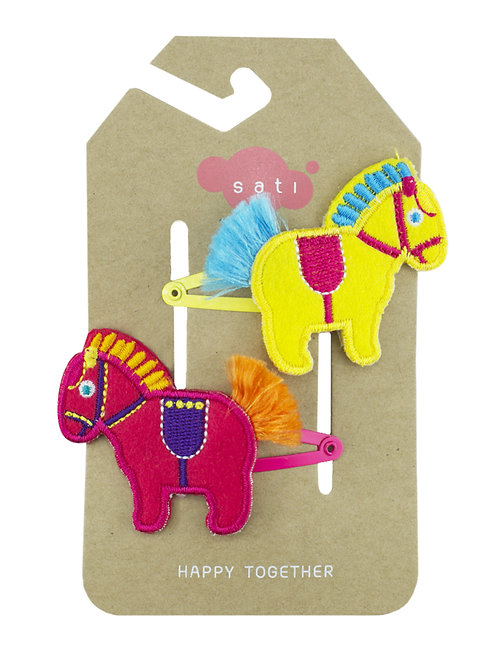 Circus Pony Hair Clip
