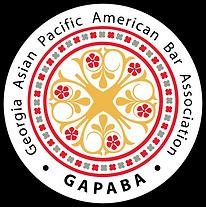 GAPABA Logo Round Pin Black.png