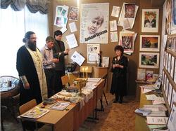 На освящении музея А.П.Кутилова.