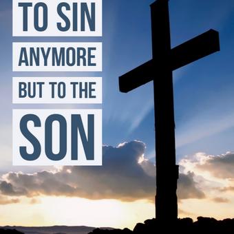 Sin no more!