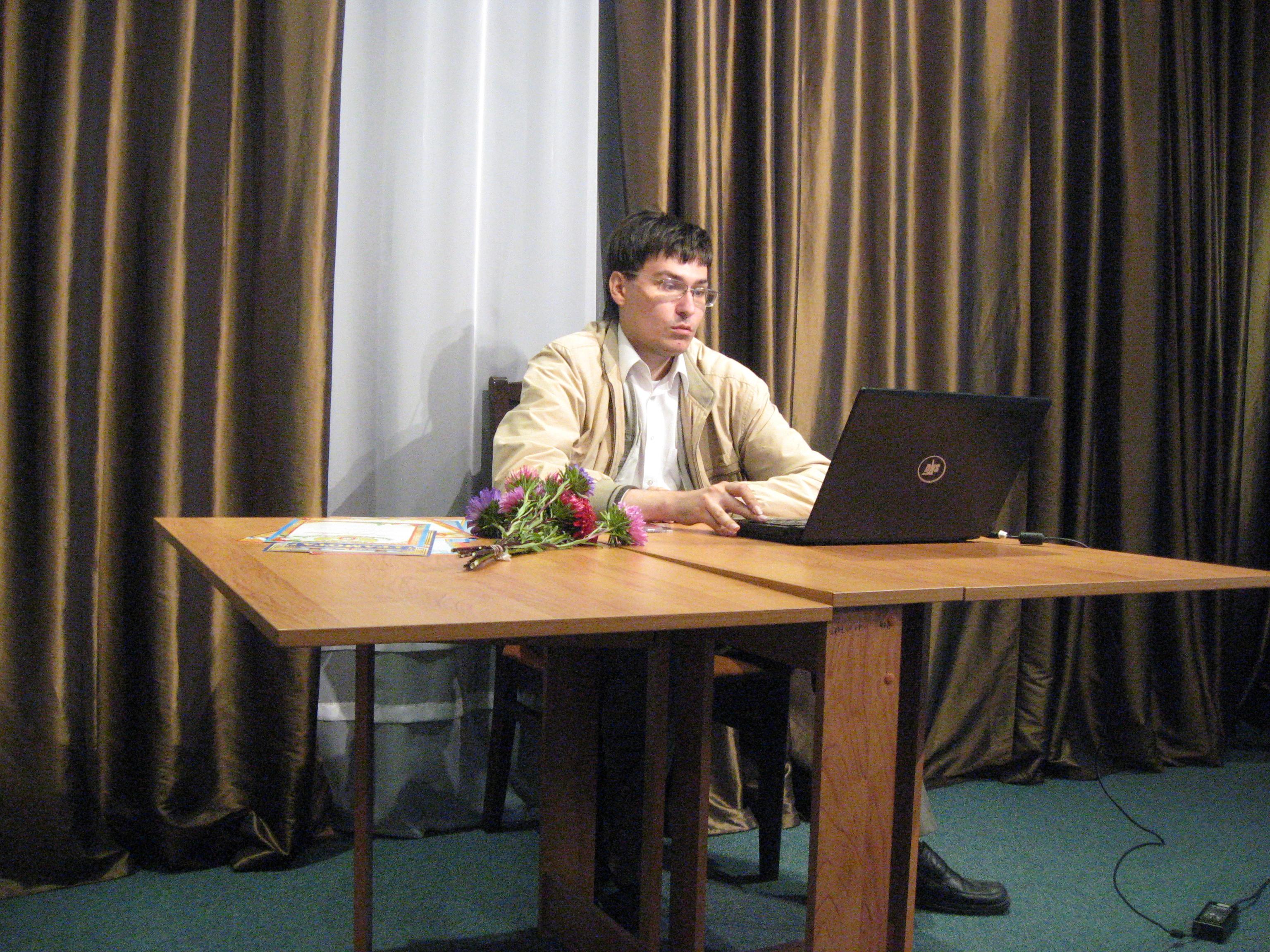 В музее Ф.М.Достоевского