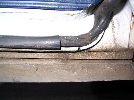 W123-as ajtókéder kamurestaurálása - Sydor
