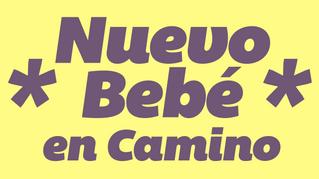 Boletín NOVIEMBRE - BEBÉ # 4  EN CAMINO.