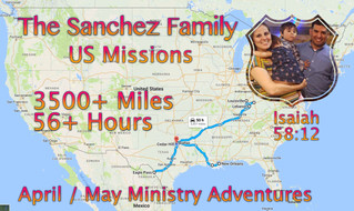 April / May Newsletter -God is leading Hispanic ministers to rural America.
