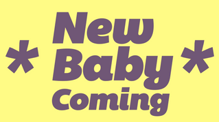 NOVEMBER Newsletter - BABY #4 IS ON IT'S WAY