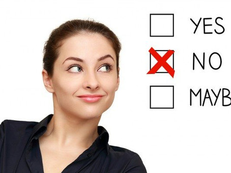 Stop Saying 'Yes' When You (Really) Need to Say 'No'