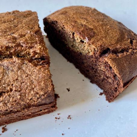 Marbre au chocolat sans beurre et sans gluten