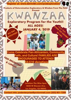 Kwanzaa Exploratory Flyer 2018-19