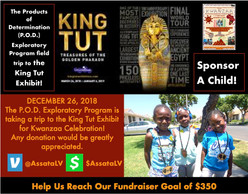 POD Kwanzaa 2019 Sponsorship Flyer