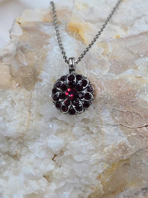 Mariana Swarovski Crystal Guardian Angel  Necklace