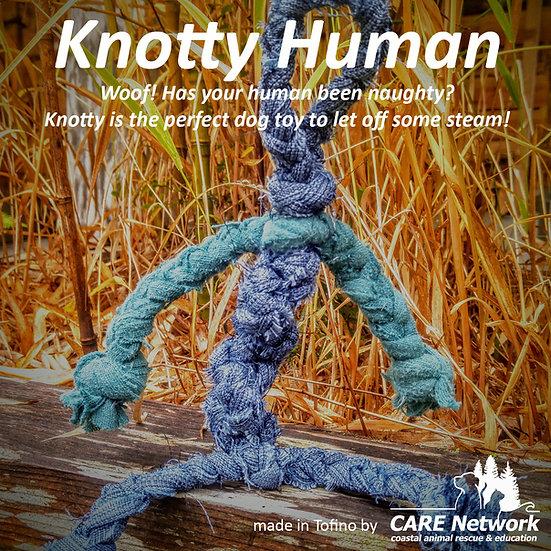 Knotty Human Dog Toy