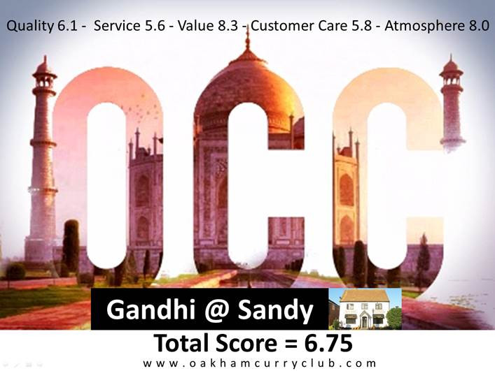 Mahatma doffed for Gandhi at Sandy?
