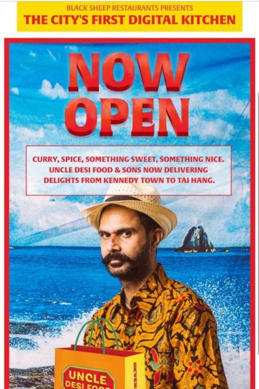 Uncle Desi – Pop up restaurant