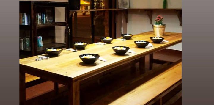 Cafecito de la 9 Communal Table