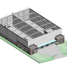 Modelo BIM - Prédio de Logística