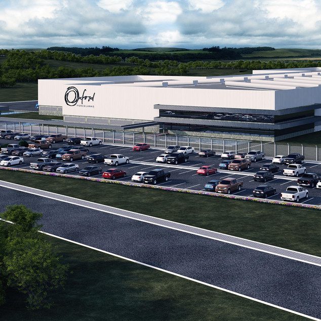 Imagem foto realística projeto industrial em fase de Anteprojeto