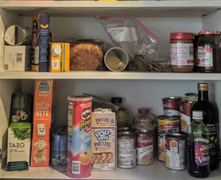 Kitchen cabinet before
