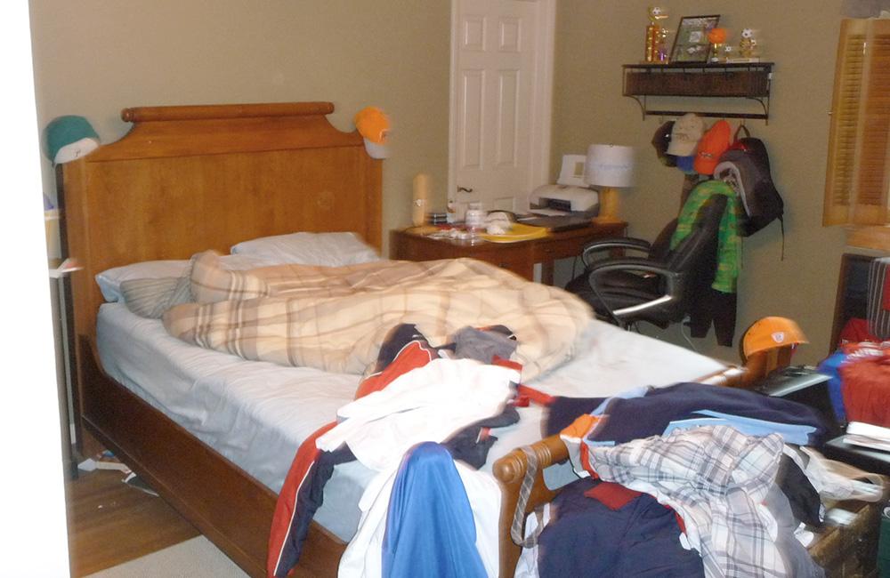 Bedroom 1 Before