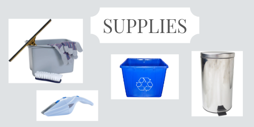 Supplies for spring organizing