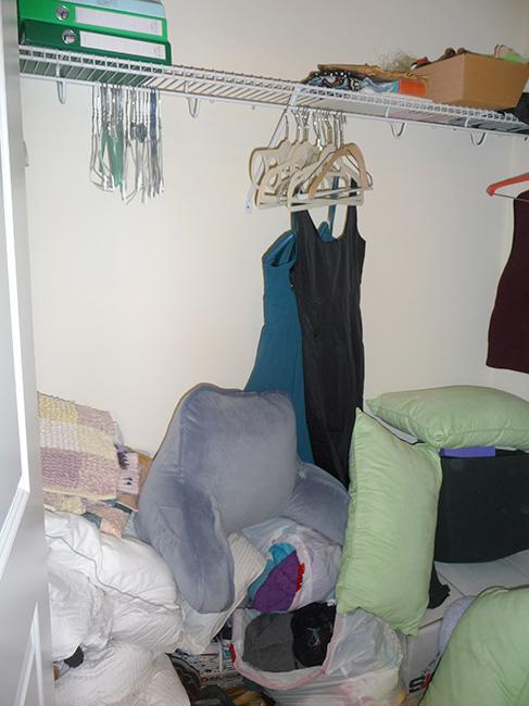 Closet 1 Before