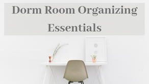 Dorm Room Organizing Essentials