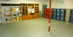basement after organizing