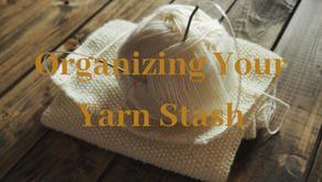 Organizing Your Yarn Stash