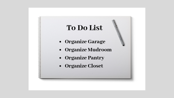 Planning to organize for spring