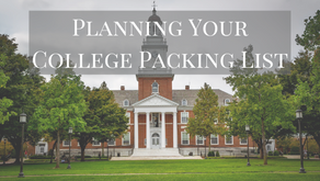 Planning Your College Packing List