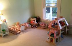 neat playroom