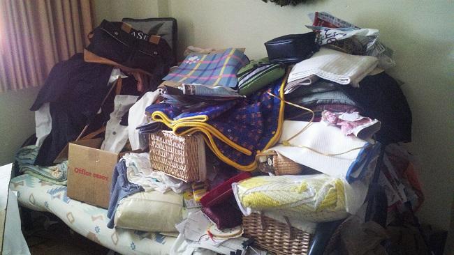 disorganized den
