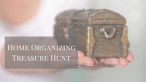 Home Organizing Treasure Hunt