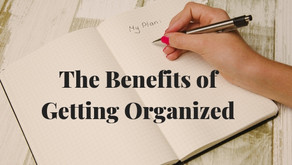 The Benefits of Getting Organized