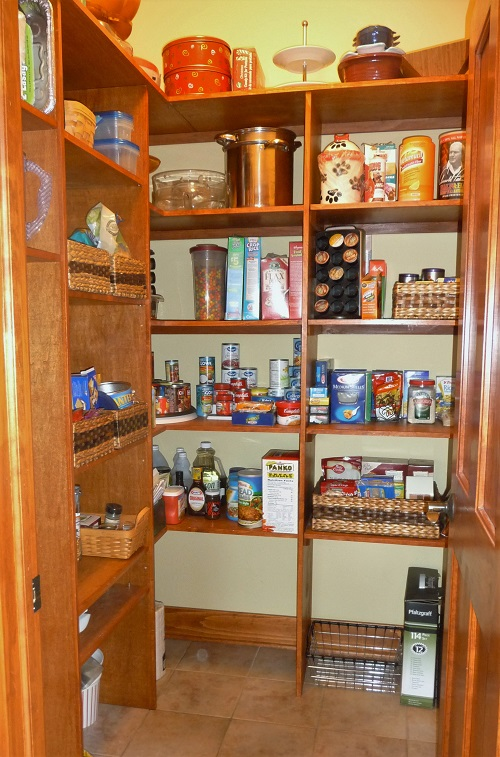 pantry after getting organized
