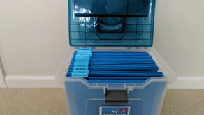 Create a File Box for Your Kid's School Years