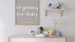 Organizing For Baby