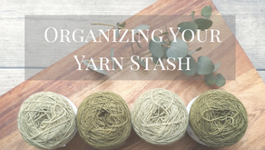 Organizing Your Yarn Stash