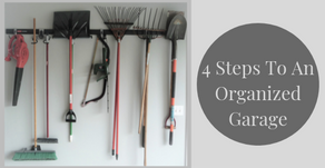 4 Steps To An Organized Garage