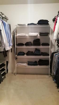 Closet before M
