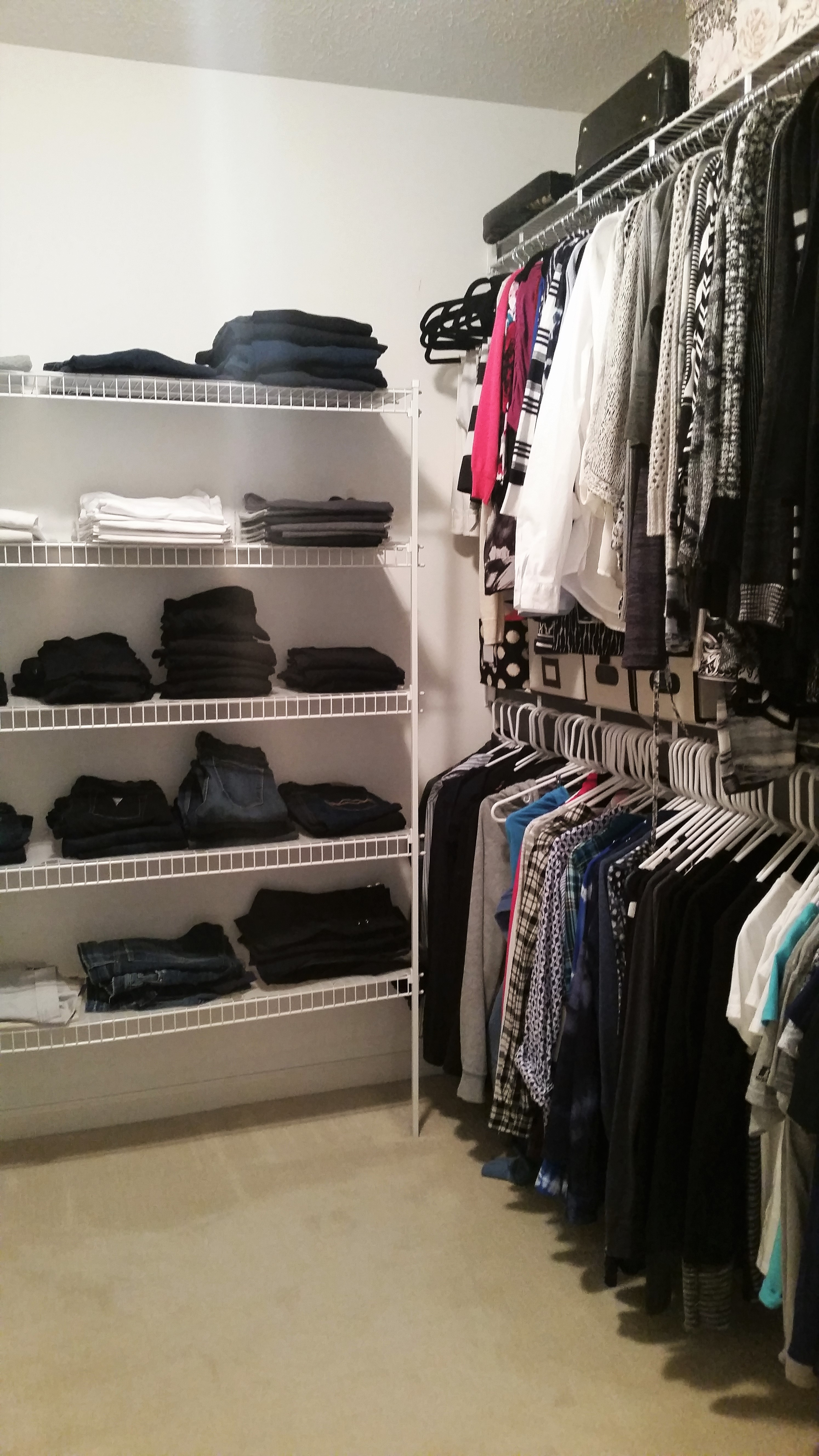 Closet before Y